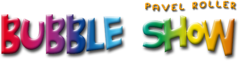 Bubbleshow logo - Pavel Roller